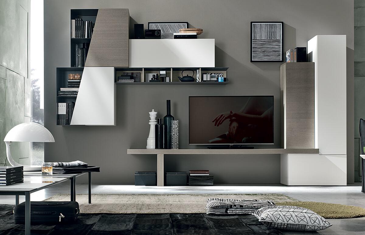 compo a016 l 39 esprit du salon. Black Bedroom Furniture Sets. Home Design Ideas