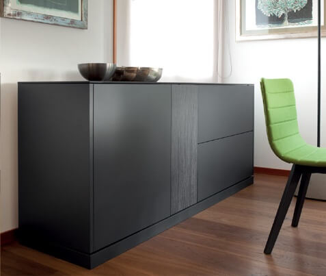 buffet contour l 39 esprit du salon. Black Bedroom Furniture Sets. Home Design Ideas