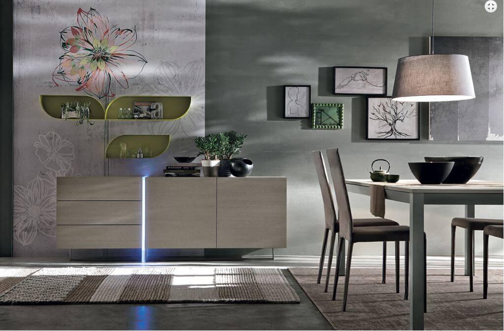 buffet madison l 39 esprit du salon. Black Bedroom Furniture Sets. Home Design Ideas