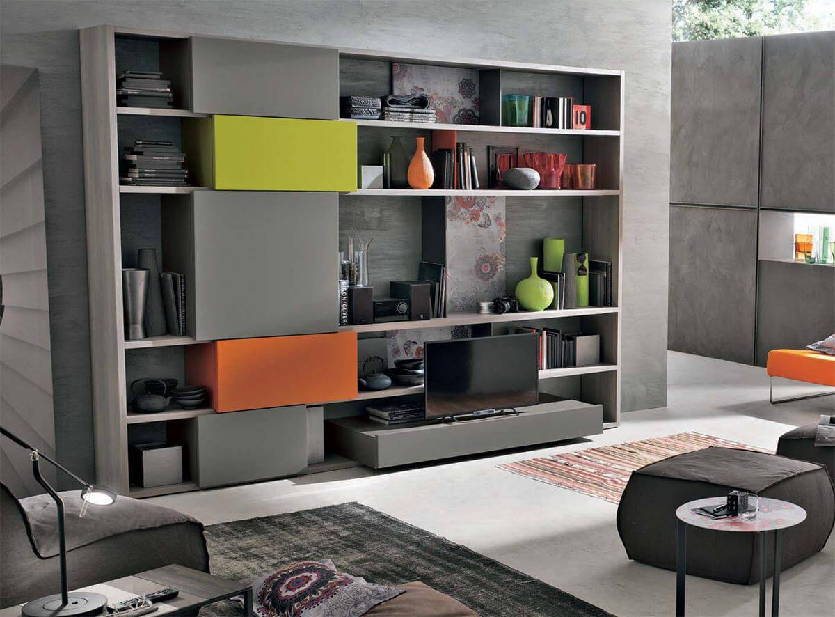 composition tv a026 l 39 esprit du salon. Black Bedroom Furniture Sets. Home Design Ideas