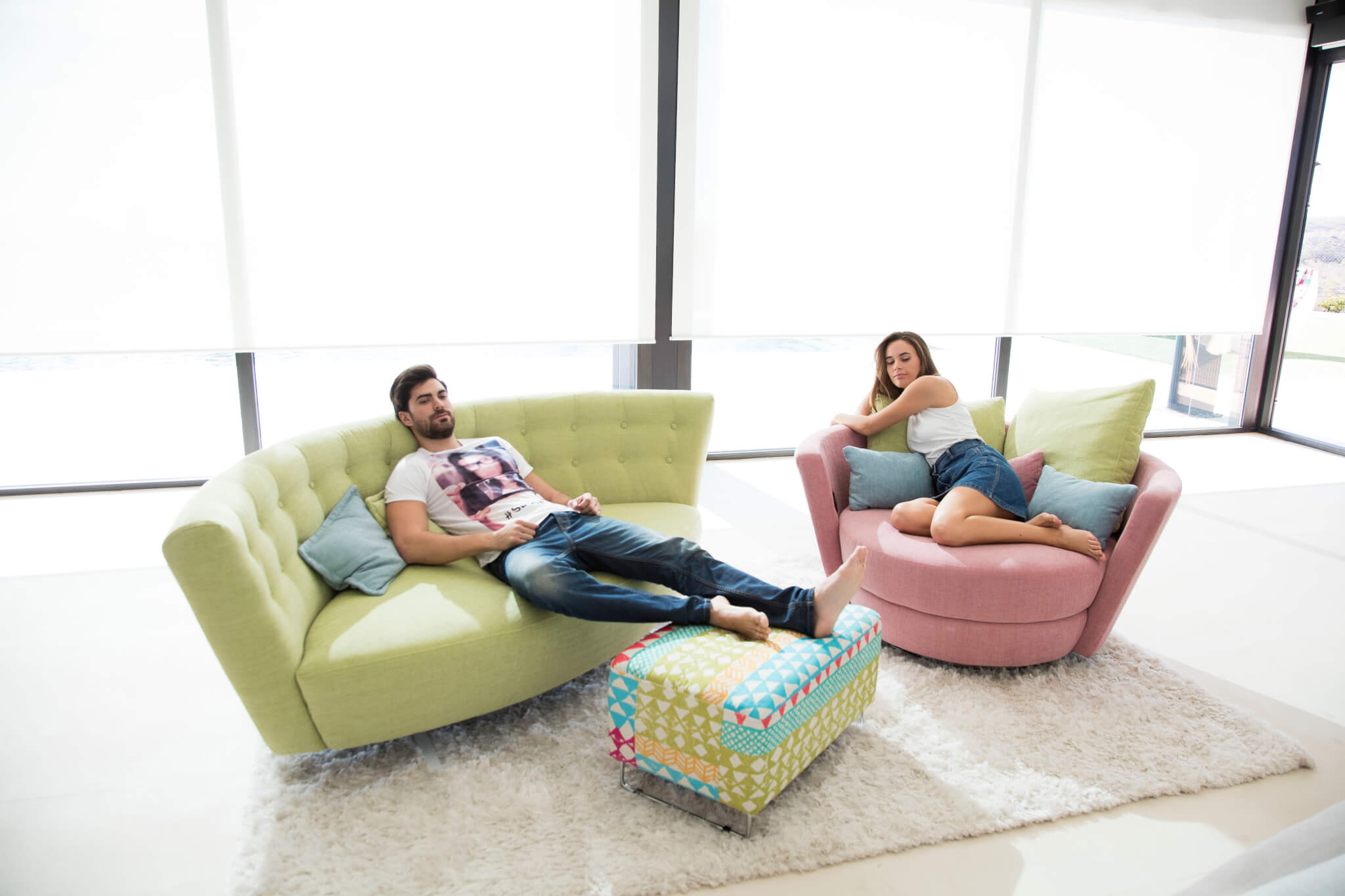 fauteuil mynest l 39 esprit du salon. Black Bedroom Furniture Sets. Home Design Ideas