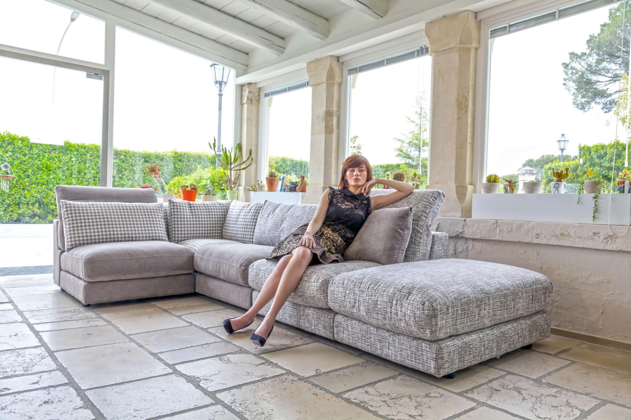 canape perle 2 l 39 esprit du salon. Black Bedroom Furniture Sets. Home Design Ideas