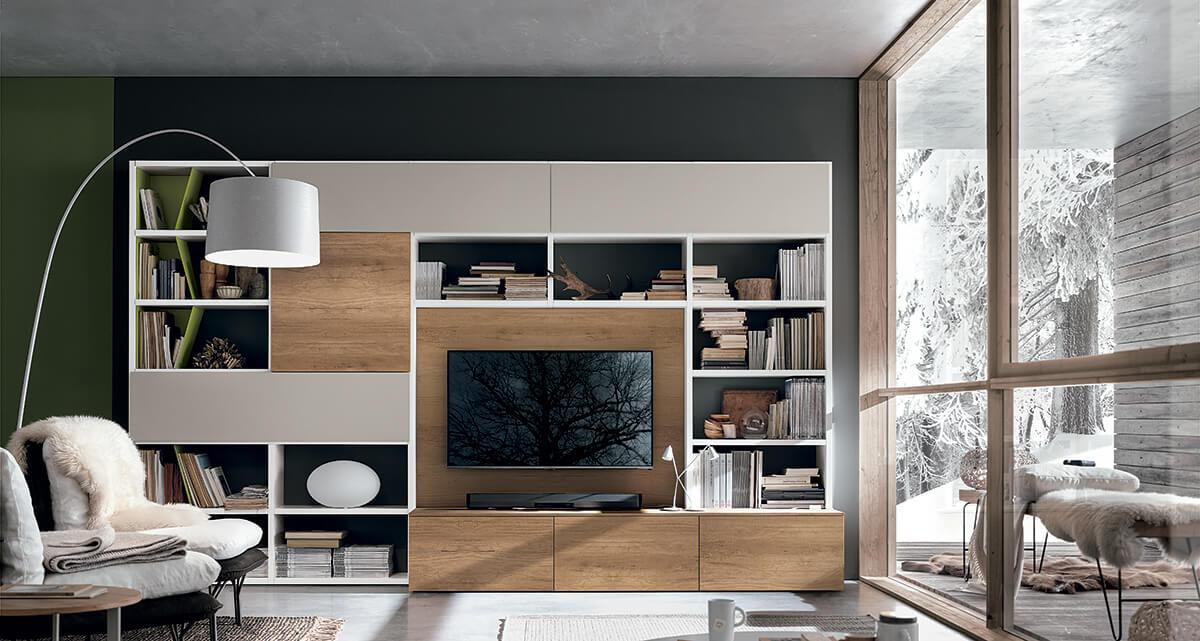 compo a036 l 39 esprit du salon. Black Bedroom Furniture Sets. Home Design Ideas