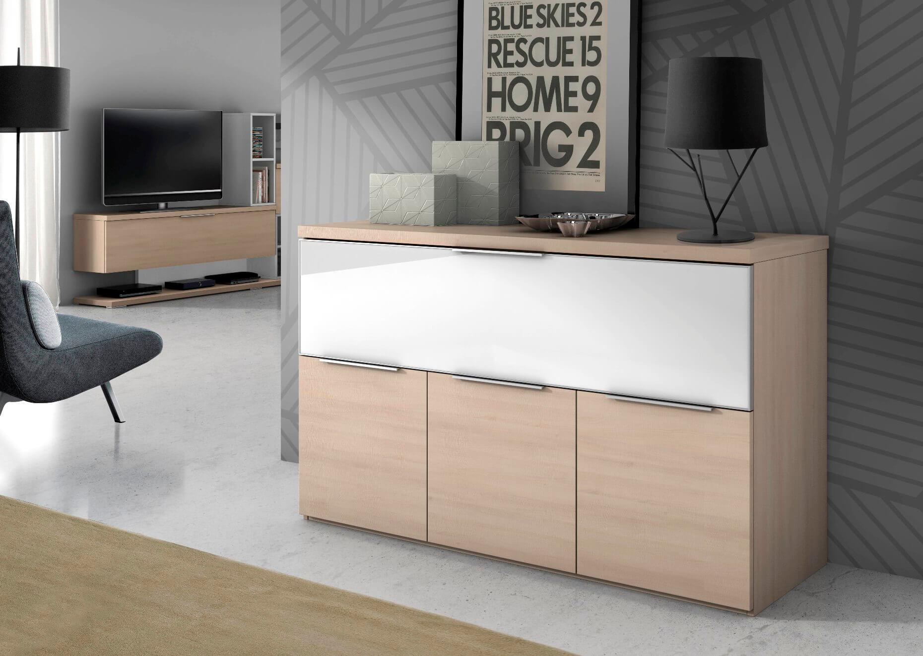 buffet u4053 l 39 esprit du salon. Black Bedroom Furniture Sets. Home Design Ideas